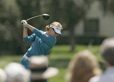 Helen Alfredsson during the third round of the Kraft Nabisco Championship held at Mission Hills CC in Rancho Mirage, CA on Saturday, April 1, 2006.Photo by Sam Greenwood/WireImage.com