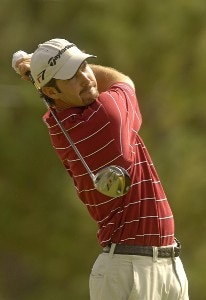 Danny Ellis during the third round of The International on Saturday August 12, 2006 at Castle Pines Golf Club in Castle Rock, ColoradoPhoto by Marc Feldman/WireImage.com