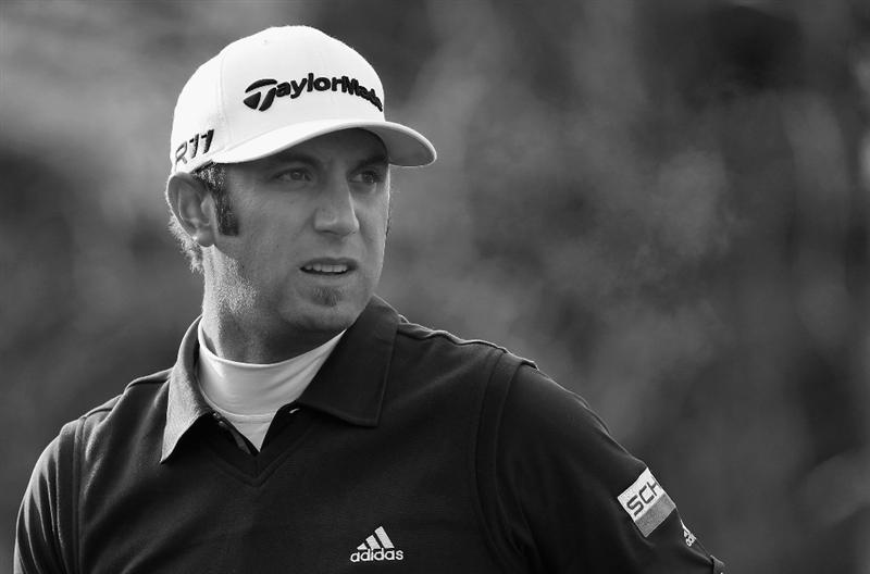 ICHEON, SOUTH KOREA - APRIL 29:  Dustin Johnson of the USA in action during the second round of the Ballantine's Championship at Blackstone Golf Club on April 29, 2011 in Icheon, South Korea.  (Photo by Andrew Redington/Getty Images)