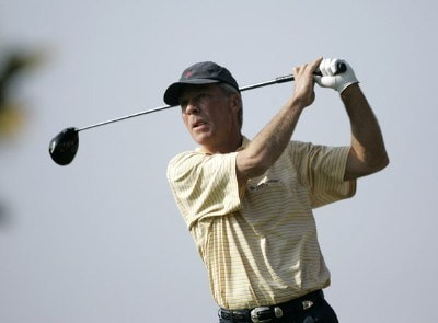 Ben Crenshaw in action during the secound round of the 2007 PGA Champion's TOUR at Newport Beach Country Club in Newport Beach, California on March 10, 2007. Champions Tour - 2007 Toshiba Classic - Second RoundPhoto by Steve Grayson/WireImage.com