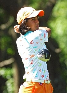 Julieta Granada during the second round of the LPGA, Inaugural, Ginn Open on Friday, April 28, 2006 at the Reunion Resort and Club in Reunion, Florida.Photo by Marc Feldman/WireImage.com