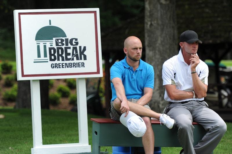 Big Break Greenbrier, James Lepp and Michael Tobiason