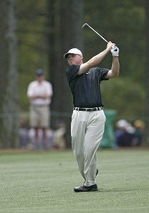 Chad Campbell during the second round of the 2006 Masters at the Augusta National Golf Club in Augusta, Georgia on April 7, 2006.Photo by Hunter Martin/WireImage.com
