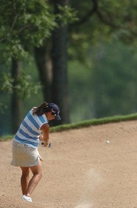 Laura Diaz in action during the second round of the John Q. Hammonds Hotel Classic at the Cedar Ridge Country Club in Broken Arrow, Oklahoma on September 9, 2006.Photo by Steve Grayson/WireImage.com