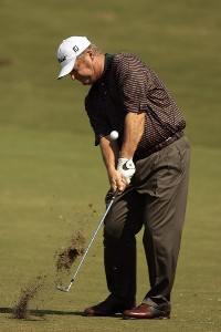 David Eger during the second round of the 2007 Allianz Championship at the Old Course at Broken Sound Club in Boca Raton, Florida on February 10, 2007. Champions Tour - 2007 Allianz Championship - Second RoundPhoto by Pete Fontaine/WireImage.com