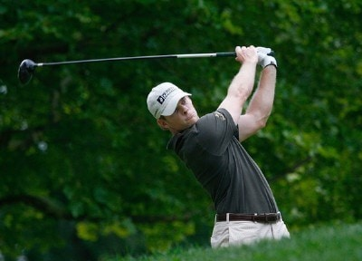 James Driscoll during the second round of the Xerox Classic August 17, 2007 held at Irondequoit Country Club in Rochester, New York. Nationwide Tour - 2007 Xerox Classic - Second RoundPhoto by Jim Rogash/WireImage.com