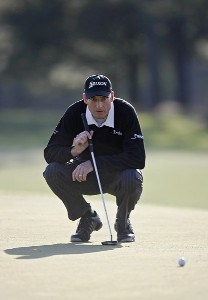 Vaughn Taylor during the third round of the 2007 Masters at the Augusta National Golf Club in Augusta, Georgia, on April 7, 2007. The 2007 Masters - Third RoundPhoto by Hunter Martin/WireImage.com