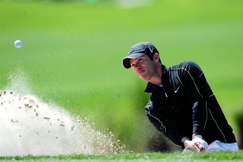 PALM BEACH GARDENS, FL - MARCH 05:  Paul Casey of England plays a shot during the second round of the Honda Classic at PGA National Resort And Spa on March 5, 2010 in Palm Beach Gardens, Florida.  (Photo by Sam Greenwood/Getty Images)