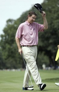 J.J. Henry during the first round of the 88th PGA Championship at Medinah Country Club in Medinah, Illinois, on August 17, 2006.Photo by Hunter Martin/WireImage.com