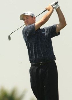 Jeff Klauk in action during the third round of the 2005 Mark Christopher Charity Classic Presented by Adelphia at Empire Lakes Golf Course in Rancho Cucamonga, California September 17, 2005.Photo by Steve Grayson/WireImage.com
