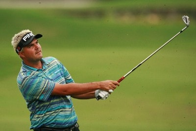 Daniel Chopra hits from the fairway on the ninth hole during the Ginn Sur Mer Classic at Tesoro on October 25, 2007 in Port Saint Lucie, Florida. PGA TOUR - 2007 Ginn sur Mer Classic - First RoundPhoto by Doug Benc/WireImage.com