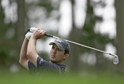 Mike Weir during the first round of the  AT&T Pebble Beach National Pro-Am on Poopy Hill Golf Course  in Pebble Beach, California on February 10, 2006.Photo by Chris Condon/PGA TOUR/WireImage.com