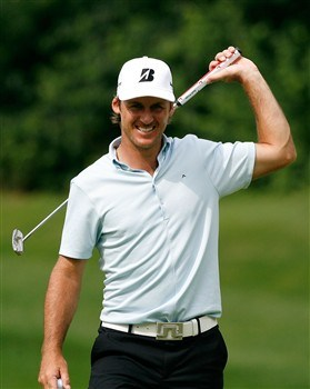 SILVIS, IL - JULY 12:  Will MacKenzie reacts after making a birdie putt on the 15th green during the third round of the 2008 John Deere Classic at TPC at Deere Run on Saturday, July 12, 2008 in Silvis, Illinois.  (Photo by Kevin C. Cox/Getty Images)