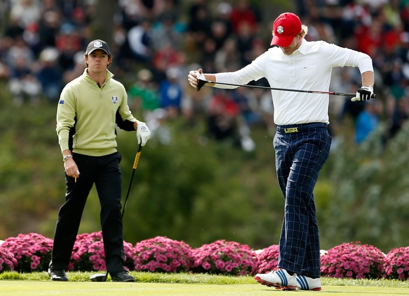 Rory McIlroy and Brandt Snedeker