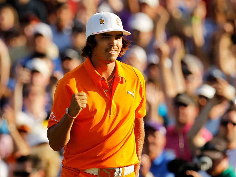 Rickie Fowler at the 2012 Wells Fargo Championship