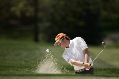 Kyle Reifers during a practice round at the 2007 Wachovia Championship held at the Quail Hollow Country Club in Charlotte, North Carolina on Tuesday, May 1, 2007. Photo by Sam Greenwood/WireImage.com