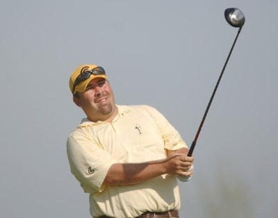 Kevin Stadler in action during the first round of the Nationwide Tour 2006 LaSalle Bank Open at the The Glen Club in Glenview, Illinois on June 8, 2006.Photo by Steve Grayson/WireImage.com