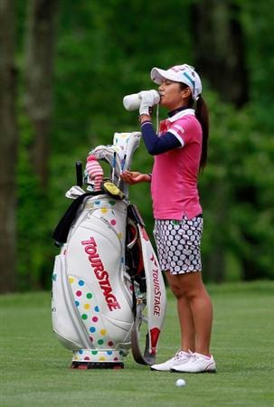 GLADSTONE, NJ - MAY 19:  Ai Miyazato of Japan stands on the fairway of the third hole during round one  of the Sybase Match Play Championship at Hamilton Farm Golf Club on May 19, 2011 in Gladstone, New Jersey.  (Photo by Chris Trotman/Getty Images)