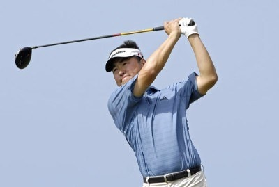 Charlie Wi of South Korea during the second round of the WGC-Barbados World Cup held on the Country Club Course at the Sandy Lane Resort in St. James, Barbados, on December 8, 2006. PGA TOUR - WGC - 2006 Barbados World Cup - Second RoundPhoto by Steve Levin/WireImage.com