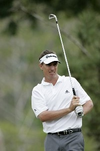 Steven Alker in action during the first round of the Movistar Panama Championship, January 26,2006, held at Club de Golf de Panama, Panama City, Republica De Panama.Photo by: Stan Badz/PGA TOUR