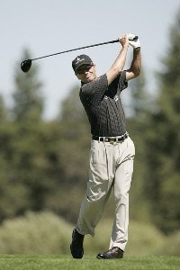 Mark McNulty during the second round of the JELD-WEN Tradition on the Crosswater Course at Crosswater Club on August 17, 2007 In Sunriver, Oregon. Champions Tour - 2007 JELD-WEN Tradition - Second RoundPhoto by Stan Badz/PGA TOUR/WireImage.com
