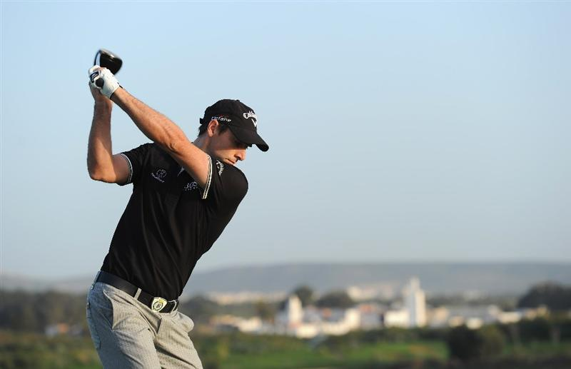 AGADIR, MOROCCO - MARCH 31:  Oliver Wilson of England plays a shot during the first round of the Trophee du Hassan II Golf at the Golf du L`Ocean on March 31, 2011 in Agadir, Morocco.  (Photo by Stuart Franklin/Getty Images)