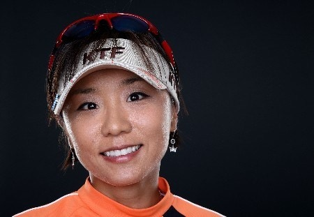 PORTLAND, OR - AUGUST 23: Mi Hyun Kim poses for a portrait during the LPGA Safeway Classic at the Columbia Edgewater Country Club on August 23, 2007 in Portland, Oregon.  (Photo by Jonathan Ferrey/Getty Images)