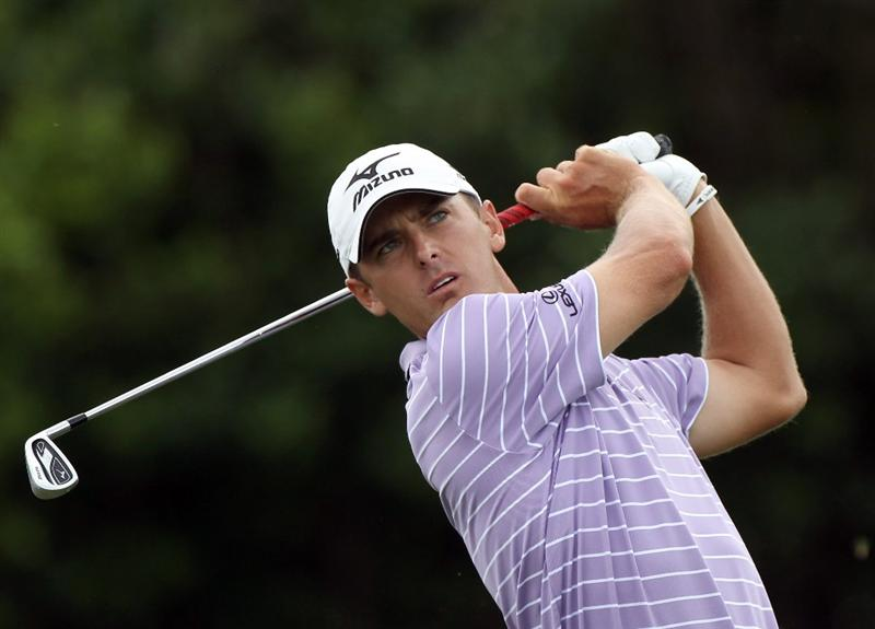 ORLANDO, FL - MARCH 26:  Charles Howell III plays a shot on the 7th hole during the third round of the Arnold Palmer Invitational presented by MasterCard at the Bay Hill Club and Lodge on March 26, 2011 in Orlando, Florida.  (Photo by Sam Greenwood/Getty Images)