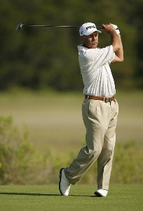Mark James during the second round of Senior PGA Championship on the Ocean Course at the Kiawah Island Resort on May 25, 2007 in Kiawah Island, South Carolina. 2007 Senior PGA Championship - Second RoundPhoto by Mike Ehrmann/WireImage.com