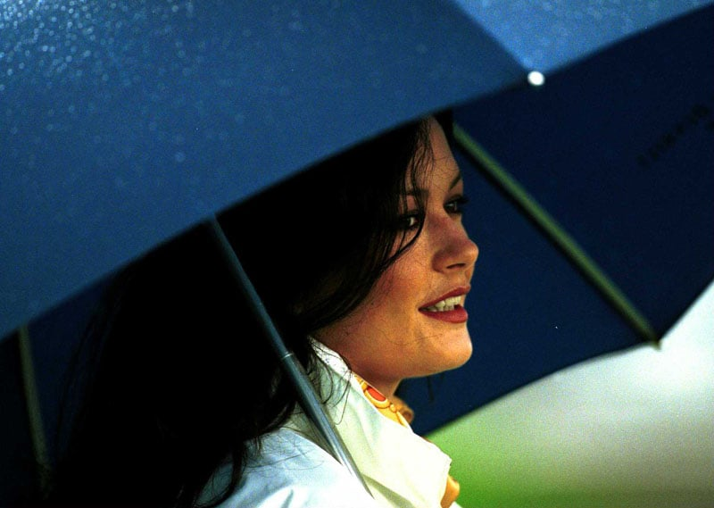 Catherine Zeta Jones at the 2000 Alfred Dunhill Cup