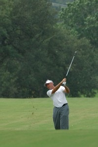 David McKenzie in action during the third round of the Valero Texas Open held at The Resort Course at La Cantera on Saturday, September 23, 2006 in San Antonio, Texas PGA TOUR - 2006 Valero Texas Open - Third RoundPhoto by Marc Feldman/WireImage.com