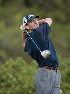 Brad Faxon during the first round of the Barclays Classic held at Westchester Country Club in Rye, New York on June 8, 2006.Photo by Chris Condon/PGA TOUR/WireImage.com