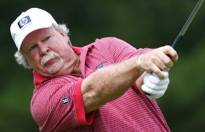 Craig Stadler drives from tee 2 during the first round of the Bank of America Championship atPhoto by Jim Rogash/WireImage.com