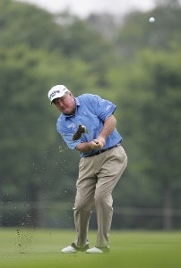 Allen Doyle during the first round of the Commerce Bank Championship on the Red Course at Eisenhower Park  in East Meadow, New York on June 23, 2006.Photo by Michael Cohen/WireImage.com