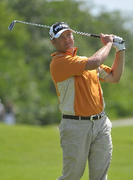 PLAYA DEL CARMEN, MEXICO - FEBRUARY 22:  Ted Purdy during the second round of the Mayakoba Golf Classic at Riviera Maya on February 22, 2008 in Playa Del Carmen, Mexico.  (Photo by Marc Feldman/Getty Images)