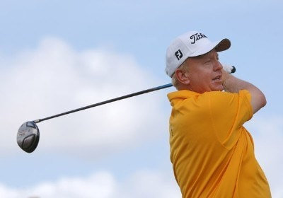 Billy Mayfair  on the first tee during the third round of  the 2006 Honda Classic March  11 at the Country Club at Mirasol in Palm Beach Gardens, Florida.Photo by Al Messerschmidt/WireImage.com