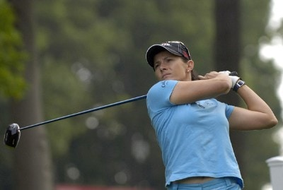 Rachel Hetherington during the first round of  the Canadian Women's Open at the London Hunt and Country Club in London, Ontario on August 10, 2006.Photo by Steve Levin/WireImage.com