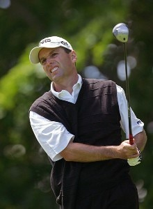Kevin Sutherland during the third round of the Barclays Classic held at Westchester Country Club in Rye, New York on June 10, 2006.Photo by Sam Greenwood/WireImage.com