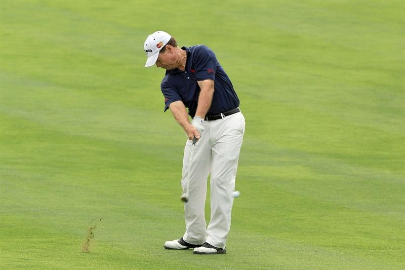 DUBAI, UNITED ARAB EMIRATES - FEBRUARY 07:  Tom Watson of the USA plays his second shot at the 12th hole during the final round of the 2010 Omega Dubai Desert Classic on the Majilis Course at the Emirates Golf Club on February 7, 2010 in Dubai, United Arab Emirates.  (Photo by David Cannon/Getty Images)