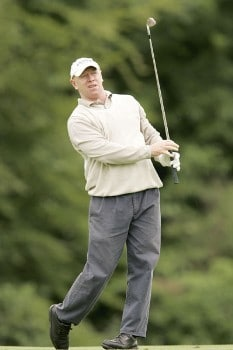 Terry Price during the second round of the 2005 Smurfit European Open on the Palmer Course at the K Club in Straffan, Ireland on July 1, 2005.Photo by Pete Fontaine/WireImage.com