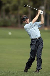 Brad Faxon in action during the first round of the 2007 Honda Classic on the PGA National Champion Course in West Palm Beach, Florida. March 1, 2007. PGA TOUR - The 2007 Honda Classic - First RoundPhoto by Pete Fontaine/WireImage.com