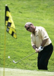 Fuzzy Zoeller during the first round of the Ford Senior Players Championship held at TPC Michigan in Dearborn, Michigan, on July 13, 2006.Photo by: Stan Badz/PGA TOUR