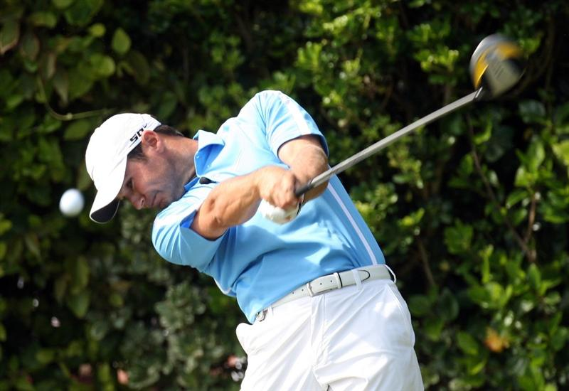 TUCKER'S TOWN, BERMUDA - OCTOBER 15: Trevor Immelman of South Africa during the final round of the PGA Grand Slam of Golf at the Mid Ocean Club on October 15, 2008 in Tucker's Town, Bermuda. (Photo by Ross Kinnaird/Getty Images)