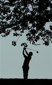 BLOOMFIELD HILLS, MI - AUGUST 07:  Sergio Garcia plays a shot on the 12th hole during round one of the 90th PGA Championship at Oakland Hills Country Club on August 7, 2008 in Bloomfield Township, Michigan.  (Photo by Stuart Franklin/Getty Images)