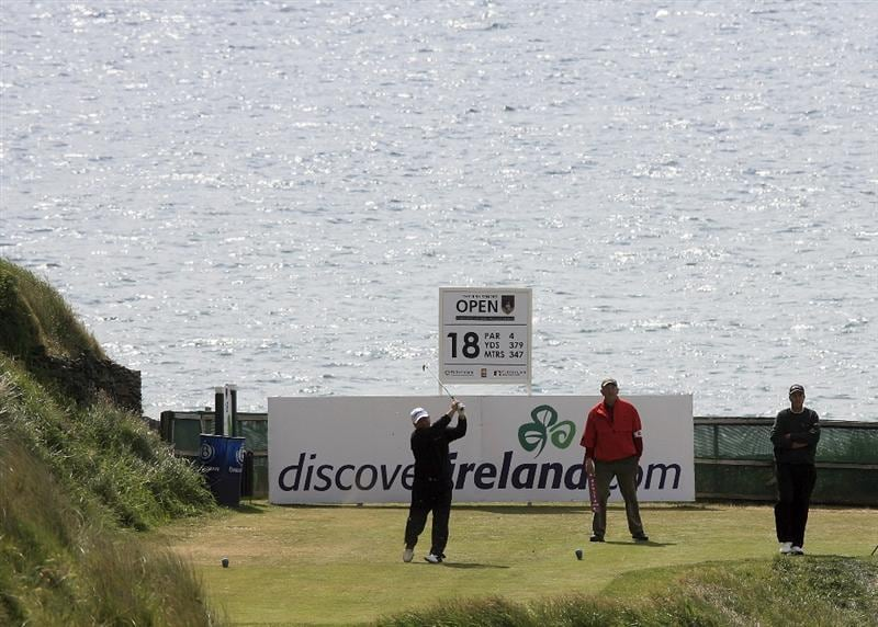 BALLYBUNION, IRELAND - JUNE 07:  Ian Woosnam of Wales in action during the final round of the Irish Seniors Open played at the Old Course, Ballybunion Golf Club on June 7, 2009 in Ballybunion, Ireland  (Photo by Phil Inglis/Getty Images)