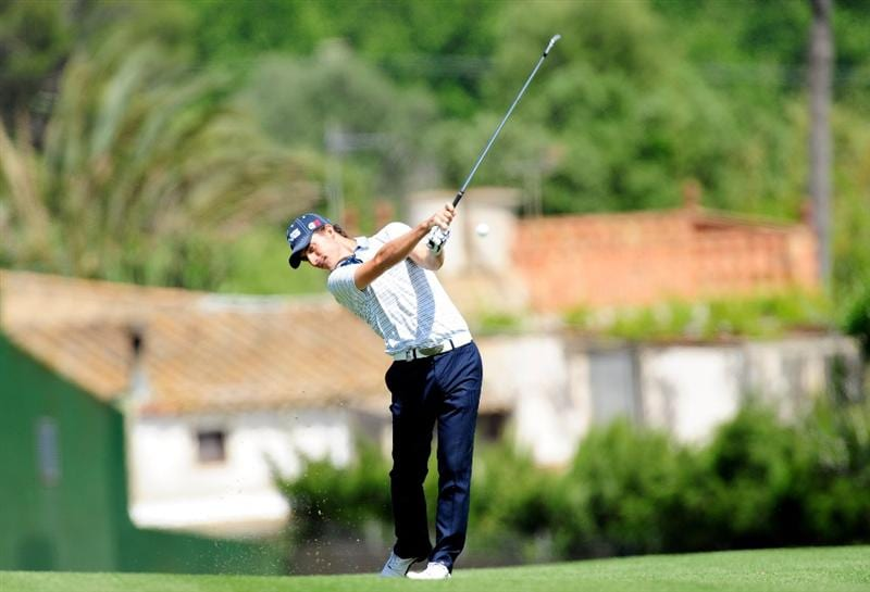 MALLORCA, SPAIN - MAY 15:  Alejandro Canizares of Spain plays his approach shot on the 10th hole during the third round of the Open Cala Millor Mallorca at Pula golf club on May 15, 2010 in Mallorca, Spain.  (Photo by Stuart Franklin/Getty Images)