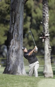 Don Pooley in action during the first round of the Toshiba Classic, March 17, 2006, held at Newport Beach Country Club, Newport Beach, California. Photo by Gregory Shamus/WireImage.com