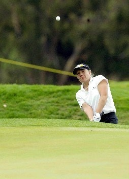 Karen Stupples of England during day 1 of the 2005 Abierto Mexicano Master Card Classic held at the Bosque Real Country Club in Mexico City, Mexico on March 4, 2005.