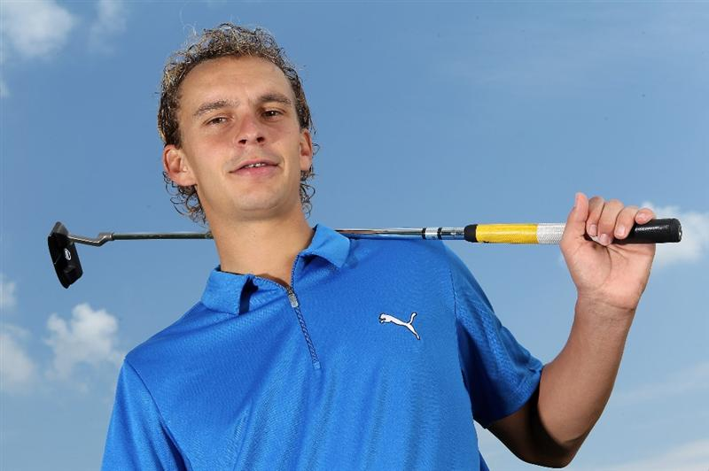 VIRGINIA WATER, ENGLAND - MAY 18:  Joost Luiten of The Netherlands poses for a portrait prior to the BMW PGA Championship on the West Course at Wentworth on May 18, 2010 in Virginia Water, England.  (Photo by Warren Little/Getty Images)
