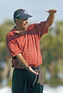 Brad Bryant during the second round of the Champions Tour ACE Group Classic at The Club at TwinEagles on Saturday, February 18, 2006, in Naples, Florida.Photo by Grant Halverson/WireImage.com